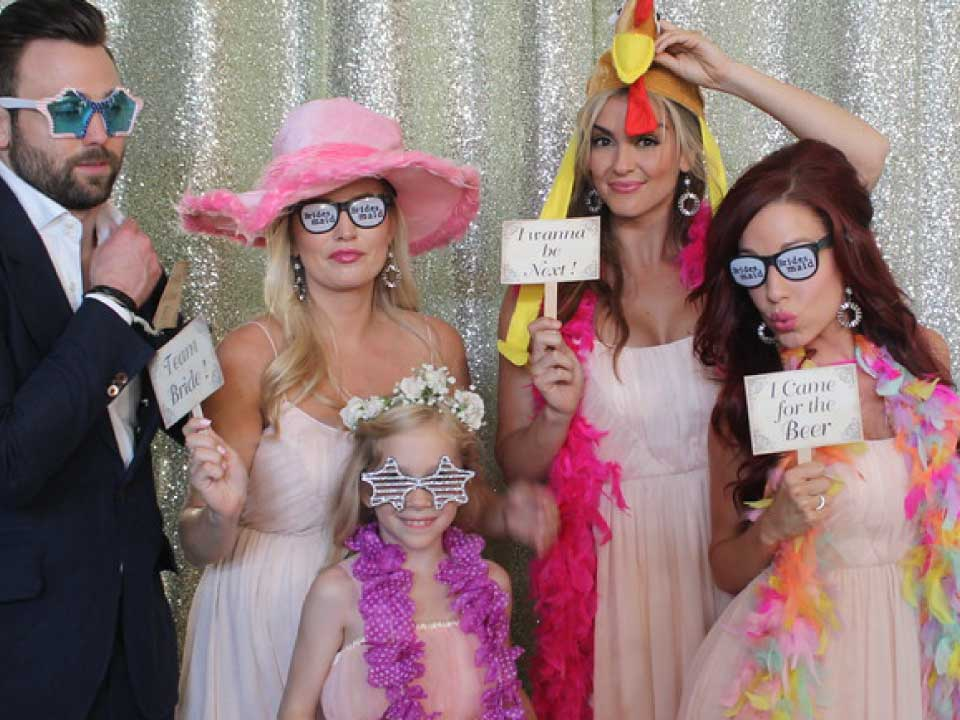 wedding reception photo props station hampton roads