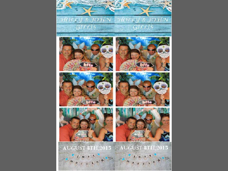 wedding reception photo props station tidewater